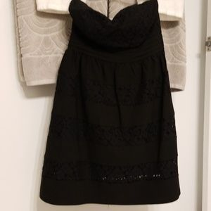 American Rag lace strapless dress XS NWT